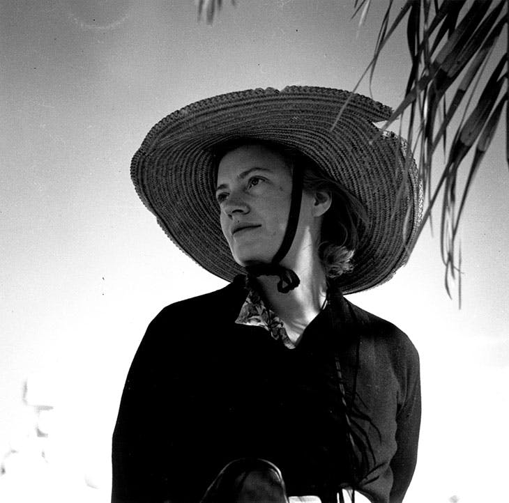 Lee Miller, photographed in Egypt in 1939 by Roland Penrose.