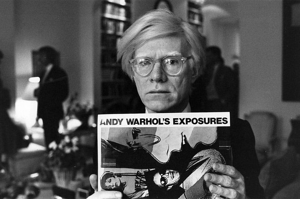 Andy Warhol photographed in 1980.