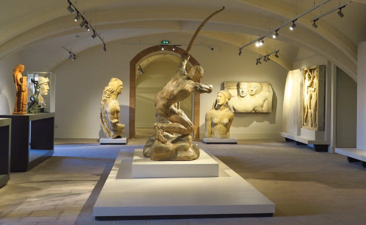 A large plaster version of Herakles the Archer (1909), by Emile-Antoine Bourdelle, is the centrepiece of one of the museum's newly renovated galleries