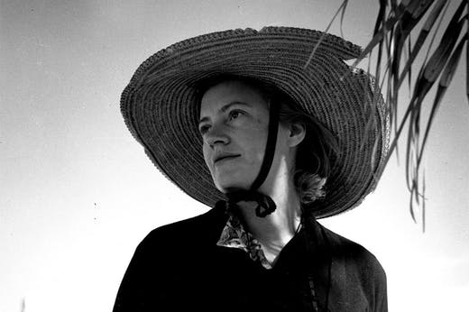 Lee Miller, photographed in Egypt in 1939 by Roland Penrose (detail).