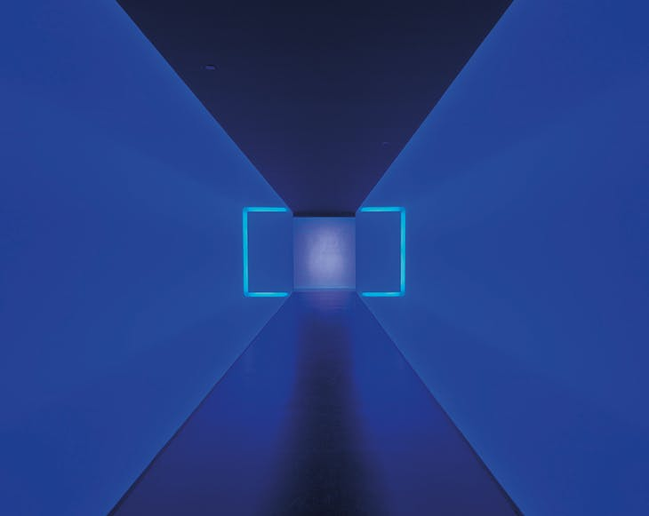 The Light Inside (1999), James Turrell. Museum of Fine Arts, Houston