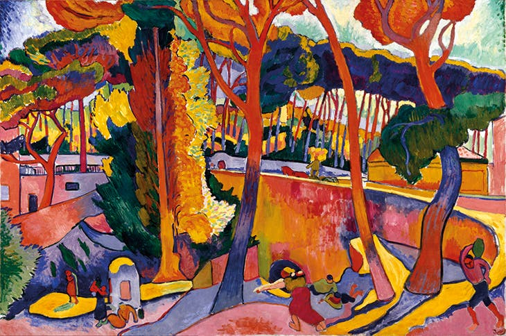 The Turning Road, L'Estaque (1906), André Derain. Museum of Fine Arts, Houston