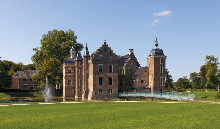 Ruurlo Castle, the Netherlands, a branch of Museum MORE since 2017 and home to the largest collection of paintings by the Dutch artist Carel Willink.