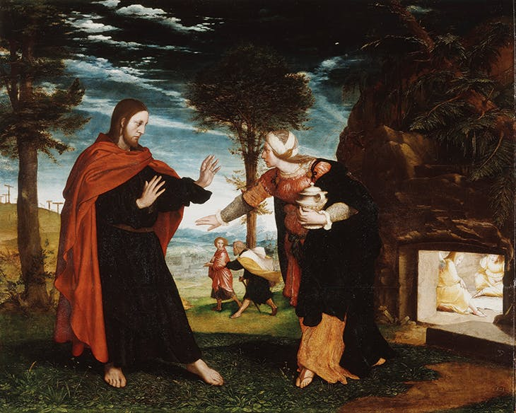 Noli Me Tangere (1526–28), Hans Holbein the Younger. Royal Collection Trust.