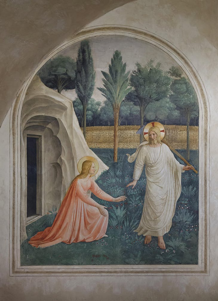 Noli Me Tangere (c. 1442), Fra Angelico. Museo di San Marco, Florence
