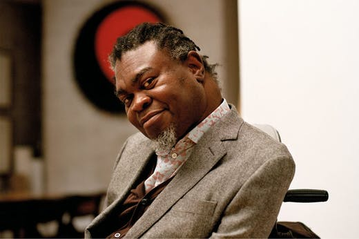 Yinka Shonibare, photographed at his studio in London in February 2020.