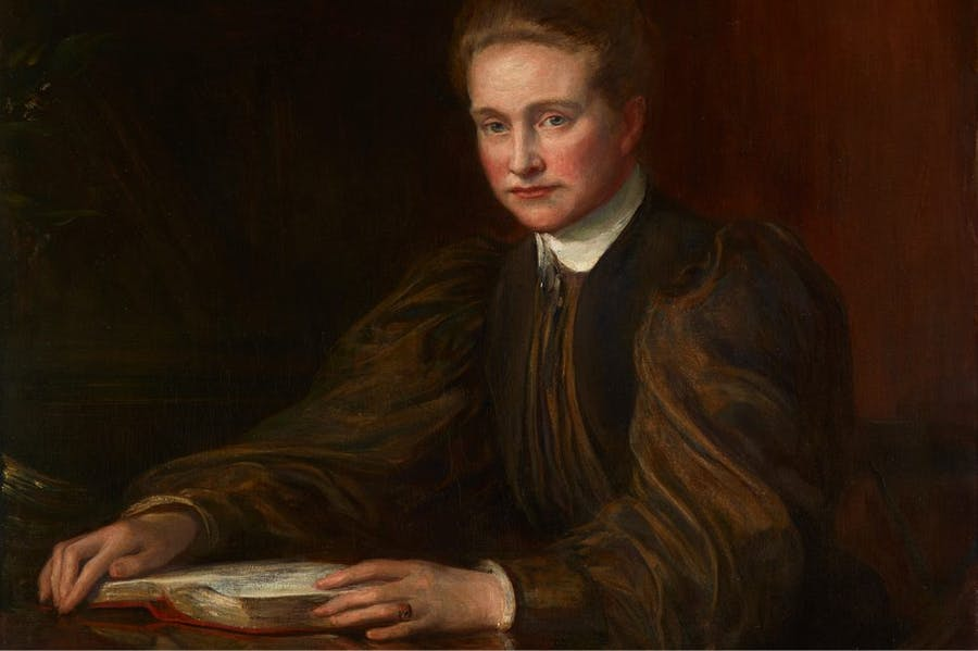 Millicent Fawcett (detail; 1898), Theodore Blake Wirgman. Royal Holloway, University of London