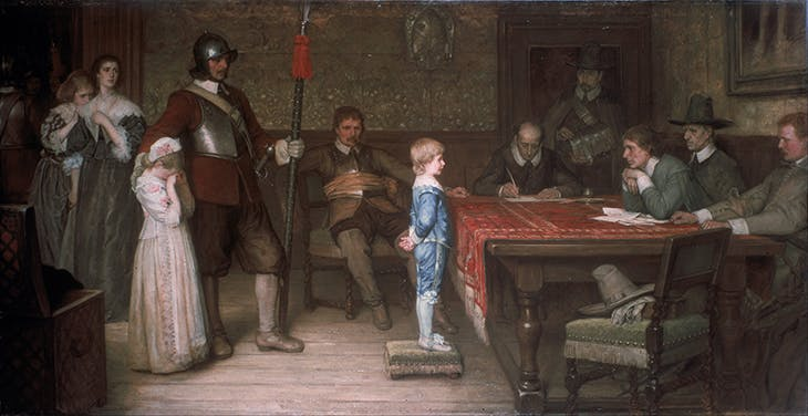 And When Did You Last See Your Father (1878), William Frederick Yeames.