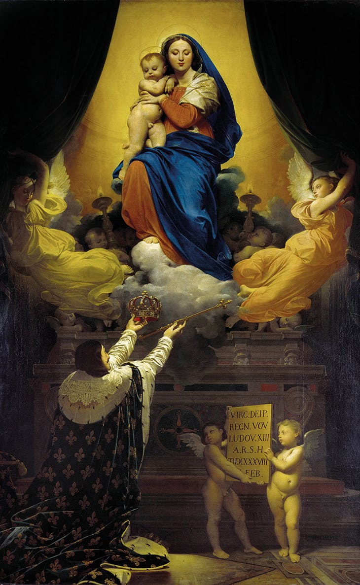 The Vow of Louis XIII (1824), Jean-Auguste-Dominique Ingres. Montauban Cathedral