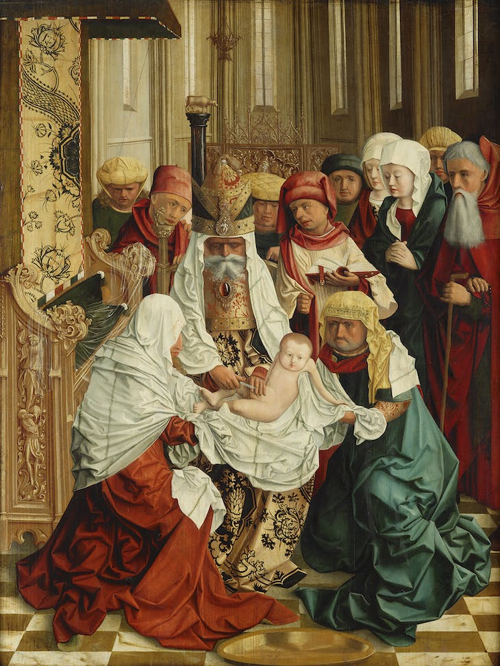 The Circumcision of Christ, from the Mondsee altarpiece (c. 1495–99), Master of Mondsee