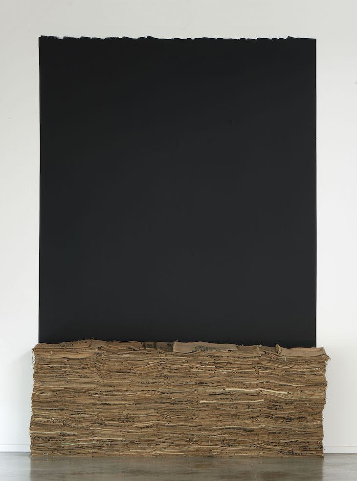 Untitled (1985), Jannis Kounellis.