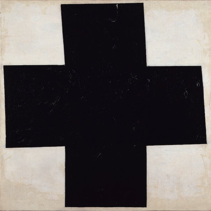 Black Cross (1915), Kazimir Malevich.