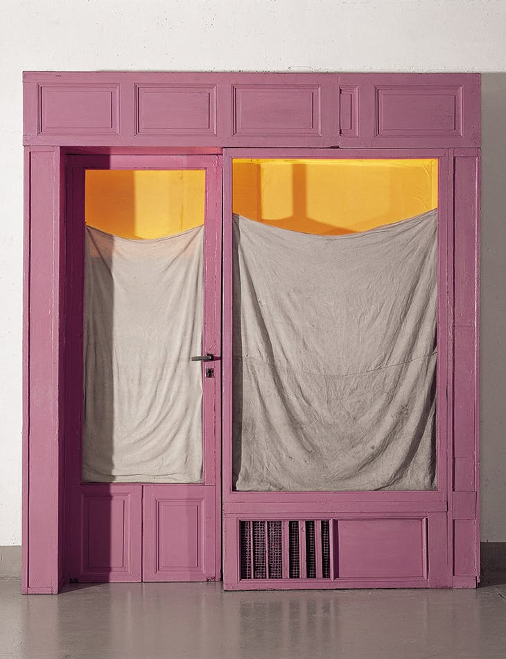 Purple Store Front (1964), Christo.