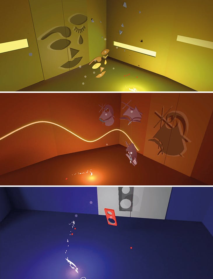 Prisme 7, a game released by the Centre Pompidou in May 2020, rewards players with artworks from the museum's collection