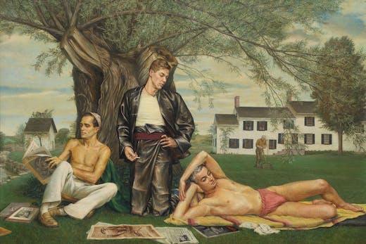 Stone Blossom: A Conversation Piece (1939–40), Paul Cadmus.