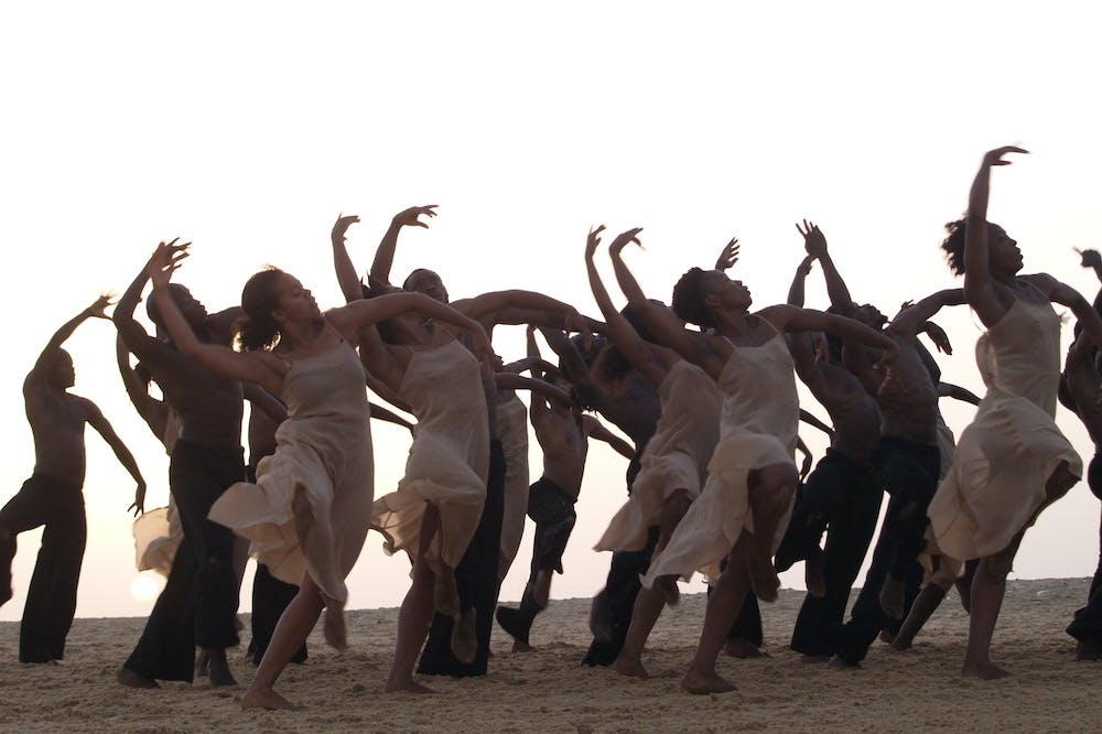 Film still from Dancing at Dusk - A Moment with Pina Bausch's The Rite of Spring (2020), Florian Heinzen-Ziob.