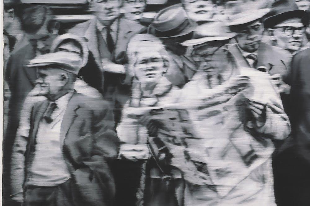 Group of People, Gerhard Richter.