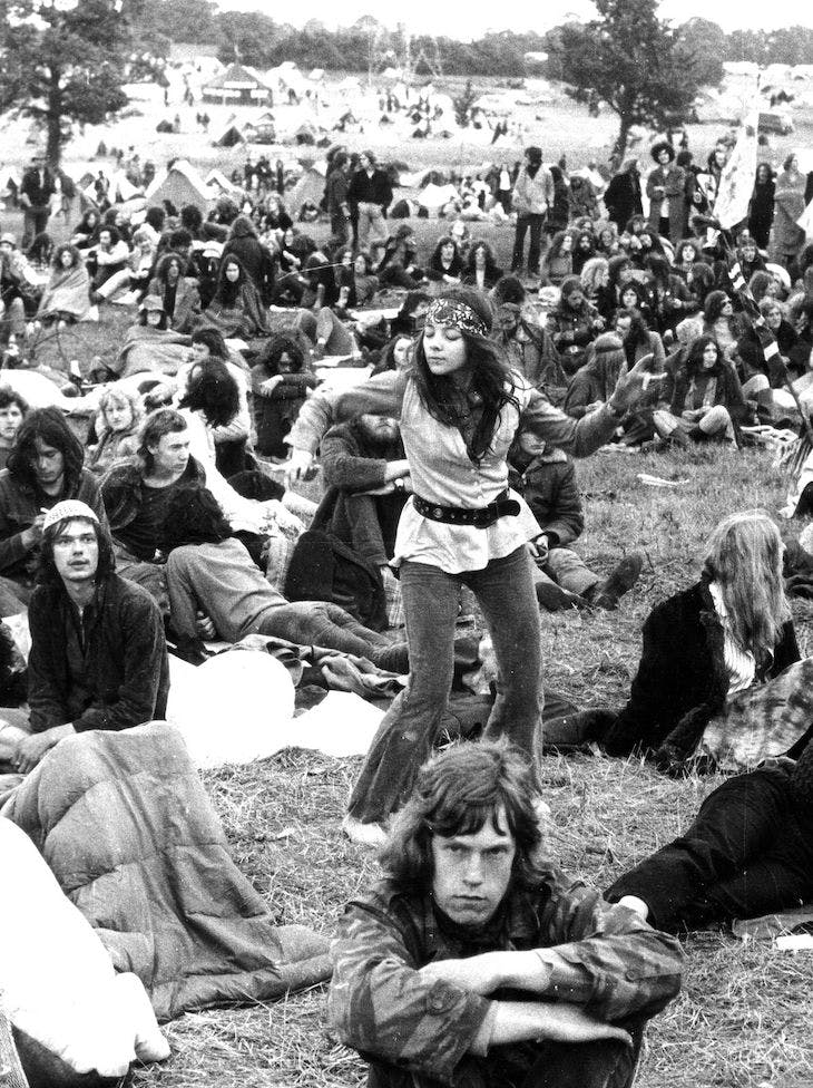 Glastonbury (1970s), Brian Walker.