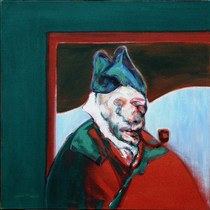 Homage to Van Gogh (1960), Francis Bacon.