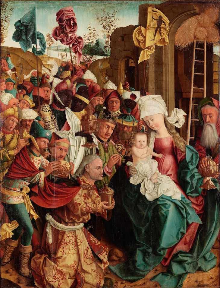Adoration of the Magi (c. 1495–99), Master of Mondsee.