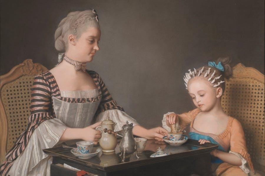 The Lavergne Family Breakfast (1754), Jean-Etienne Liotard.