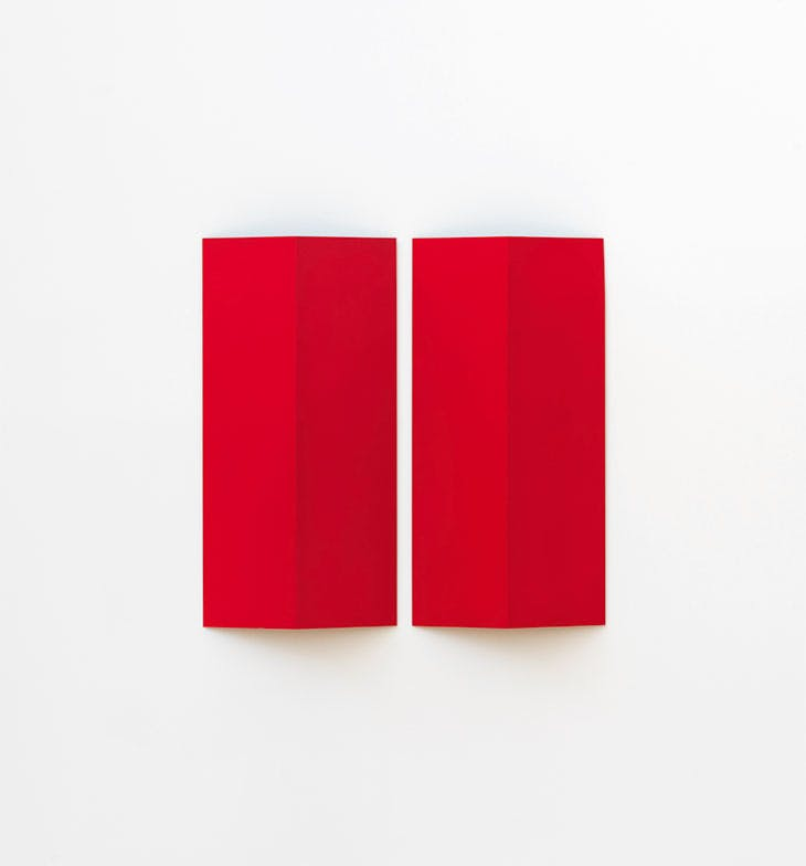 Prototype for Reliefs Serie A (Reliefs Series A; 1966), Charlotte Posenenske.