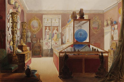 Marlborough House: Sixth Room (1857), Charles Armytage. Victoria and Albert Museum, London