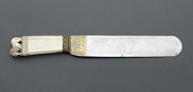 Knife (15th century), France.