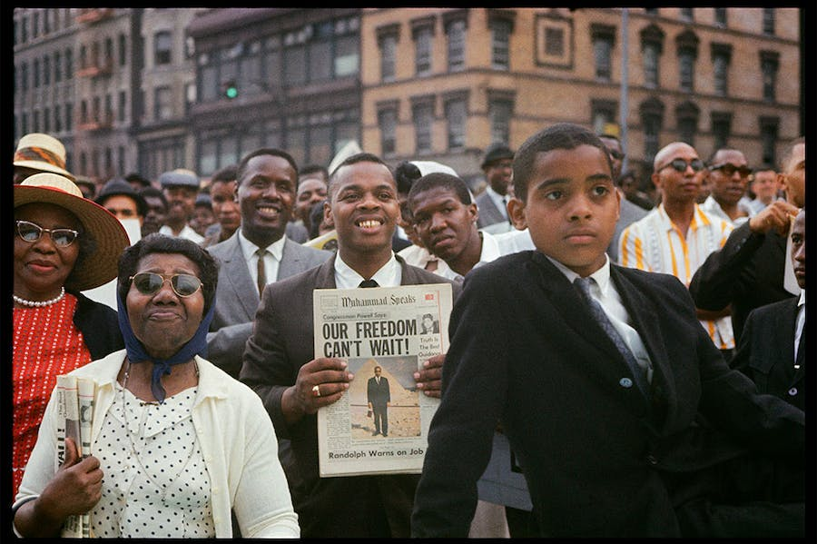 Untitled, Harlem, New York (1963), Gordon Parks.