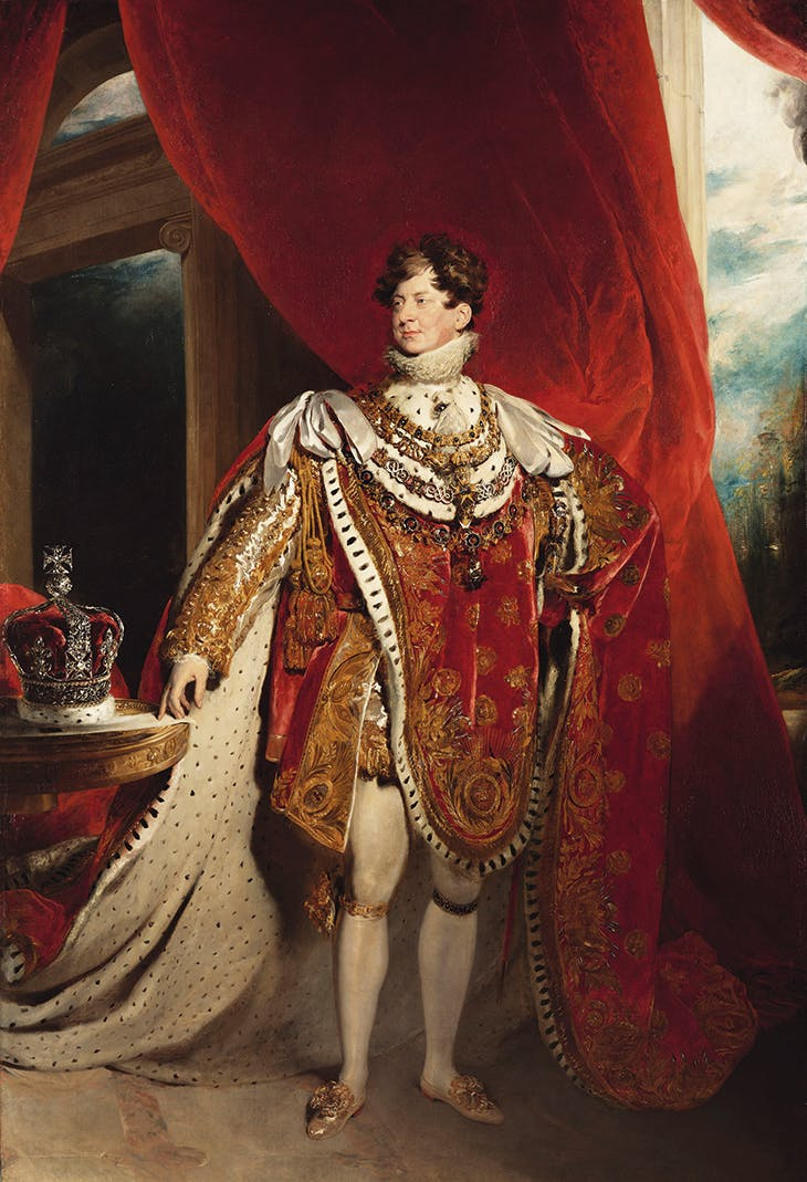 George IV (1762–1830) (1821), Thomas Lawrence.