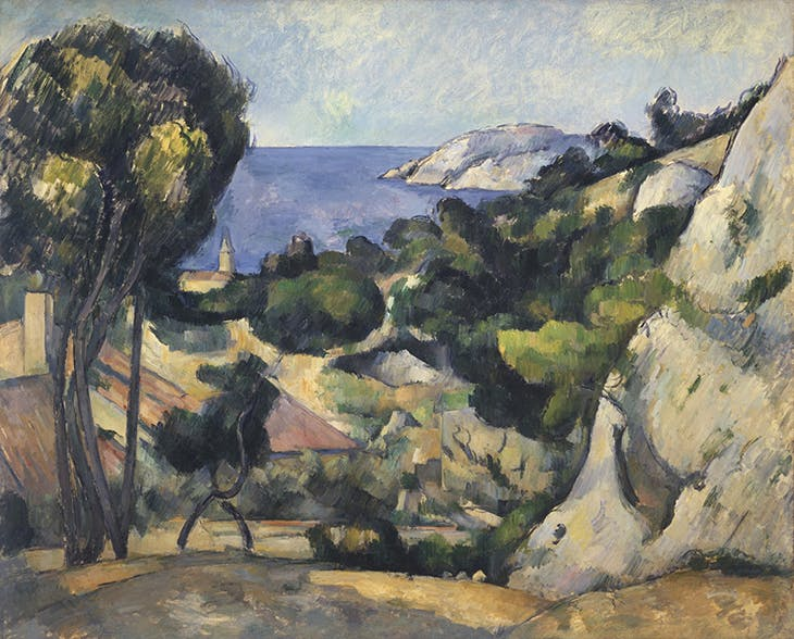 L'Estaque (1879–83), Paul Cézanne.