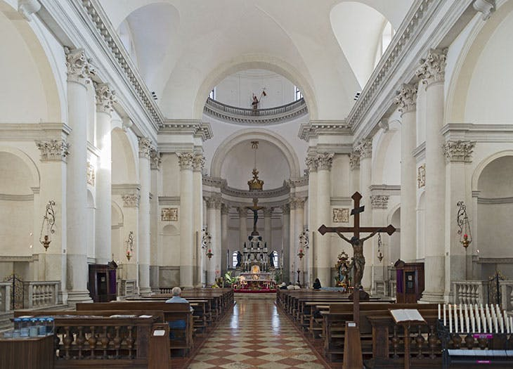 The interior of the Chiesa del Redentore. Photo: Didier Descouens/Wikimedia Commons (CC BY-SA 4.0)