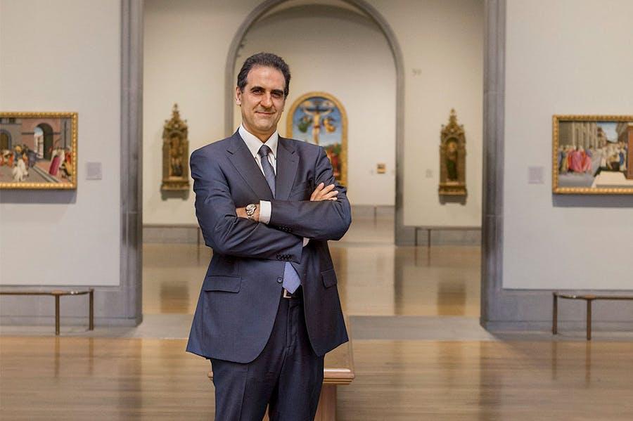 Gabriele Finaldi, director of the National Gallery, London.