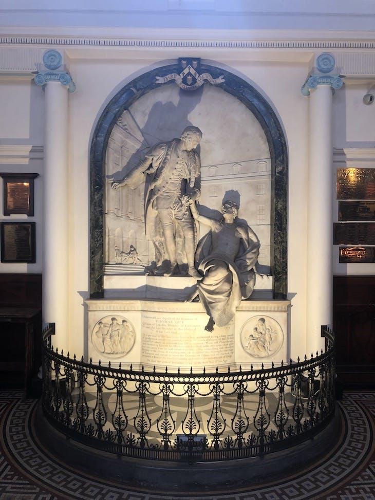 Monument to Thomas Guy (1779), John Bacon.