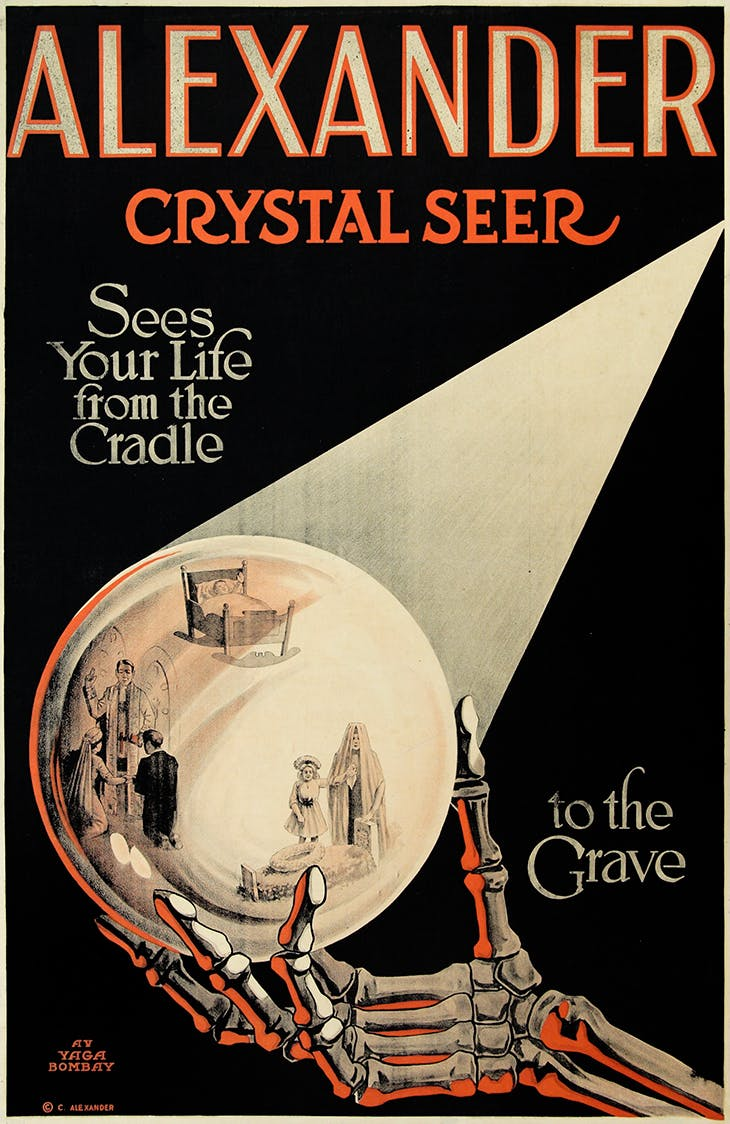 Alexander, Crystal Seer, Sees Your Life from the Cradle to the Grave