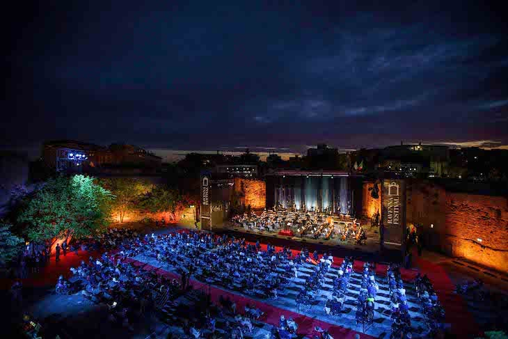 The opening concert at the Ravenna Festival on 21 June. Photo: © Silvia Lelli