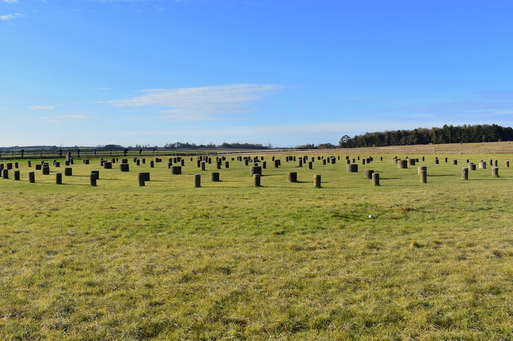 The site of Woodhenge near the Durrington Walls in Wiltshire, at the centre of the proposed Durrington Shafts pit-circle.