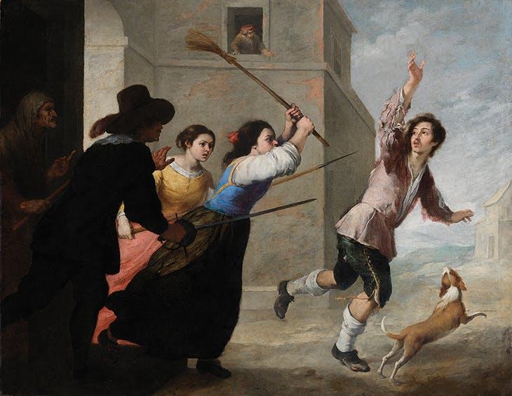 The Prodigal Son Driven Out (1660s), Bartolomé Esteban Murillo.