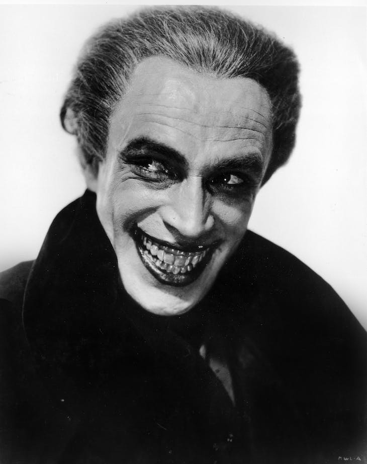 Conrad Veidt in The Man Who Laughs (1928).