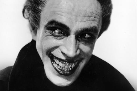Conrad Veidt in The Man Who Laughs (detail; 1928).