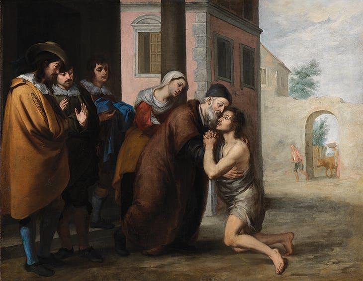 The Return of the Prodigal Son (1660s), Bartolomé Esteban Murillo.