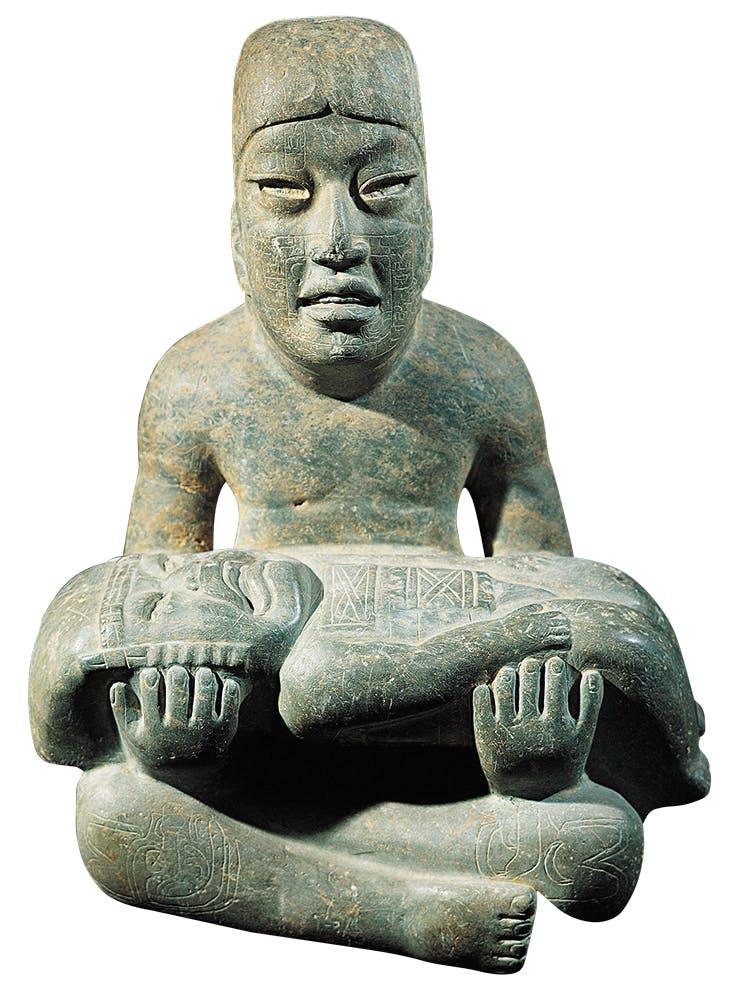 Las Limas monument (900–400BC), Olmec, Mexico. Museo de Antropología de Xalapa.