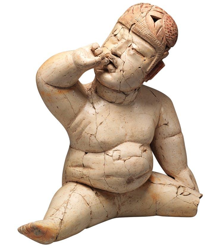 Seated figure (1200–900 BC), Olmec, Mexico. Metropolitan Museum of Art, New York.