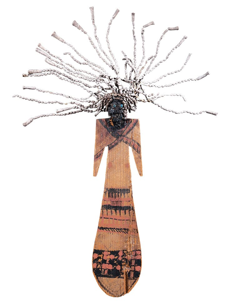 Paddle doll, Middle Kingdom, 11th Dynasty (2061–1991 BC), Egypt.