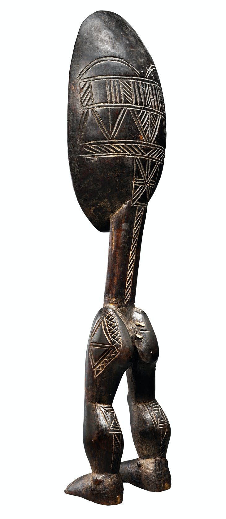 Anthropomorphic spoon (late 19th century), Dan people, Ivory Coast.