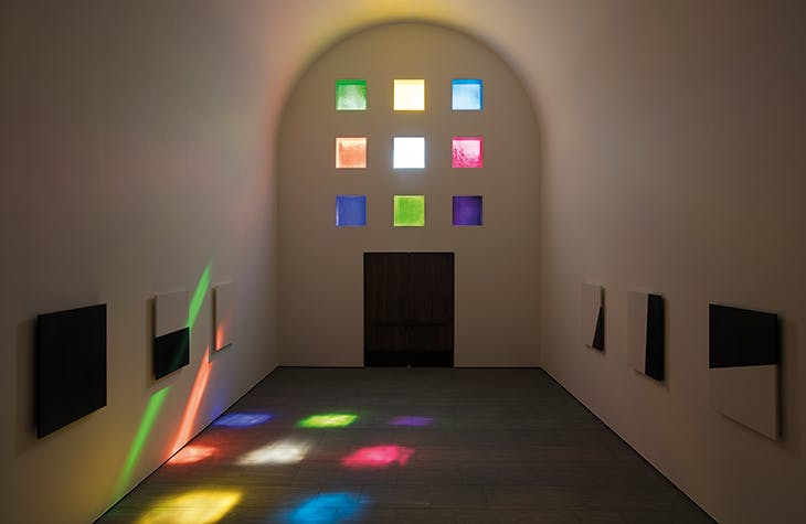 Austin (2018), Ellsworth Kelly; permanent installation at the Blanton Museum of Art, University of Texas at Austin.