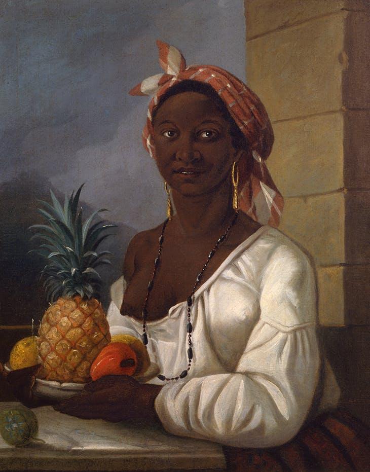 Portrait of a Haitian Woman (1786), François Malépart de Beaucourt. McCord Museum, Montreal