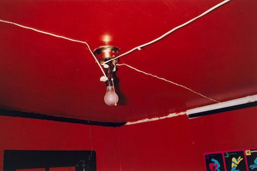 Greenwood, Mississippi (1973), William Eggleston. Museum of Modern Art, New York. © 2020 Eggleston Artistic Trust