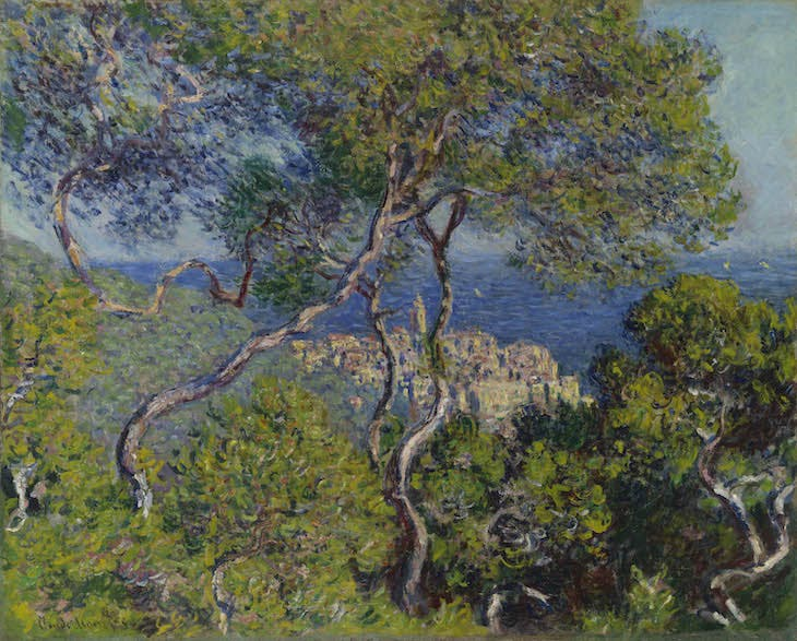 Bordighera (1884), Claude Monet.
