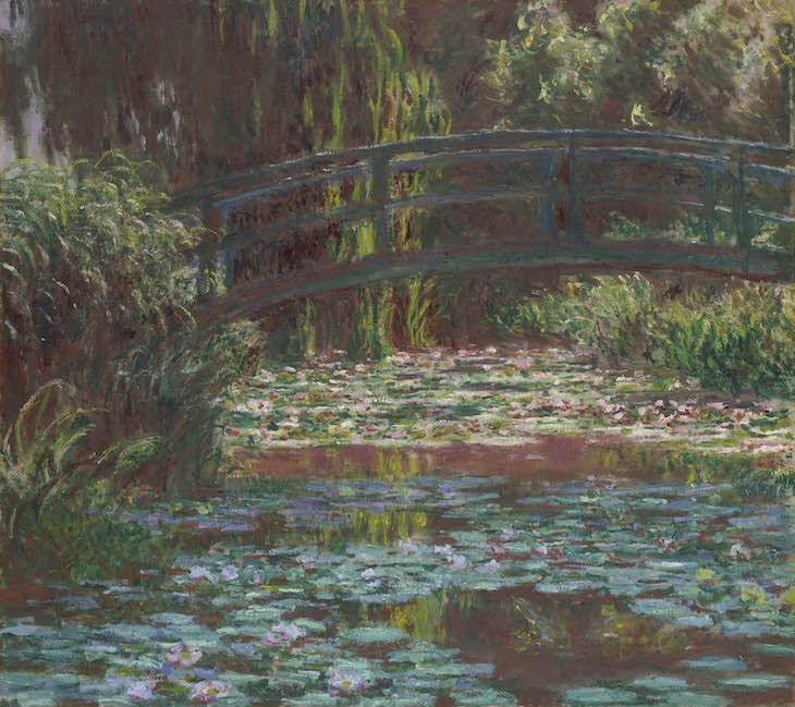 Water Lily Pond (1900), Claude Monet.